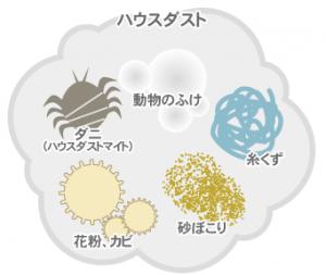 ハウスダストアレルギー性鼻炎