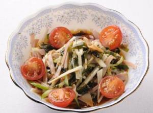 菊芋のレシピサラダ