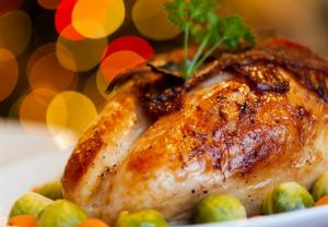 クリスマス、チキン、七面鳥
