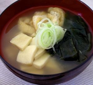 高野豆腐ダイエット、スープ